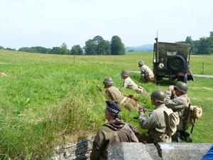 World War 2 re-enactment, Dinefwr