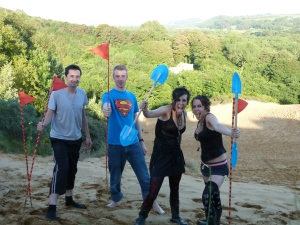 the Gimpic Games at Merthyr Mawr sand dunes