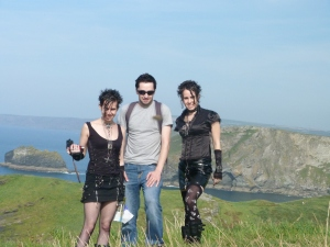 Tintagel castle cliffs