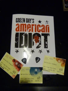 Green Day's American Idiot musical