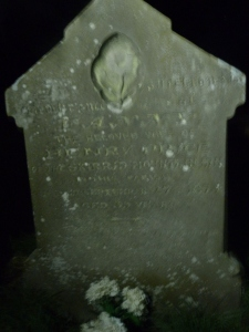 Fanny Price's grave