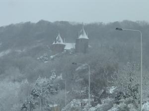 Castell Coch Winter Gimpics
