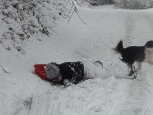Neen from the United States of Lesbonia, face planting