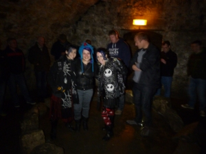 South Bridge vaults stone circle