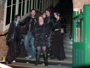 Calamityville Horror, Rothley train station