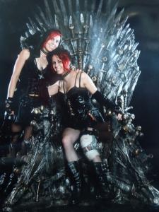 Iron Throne Cardiff Comic Con