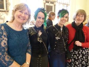 Exeter Novel Awards ceremony