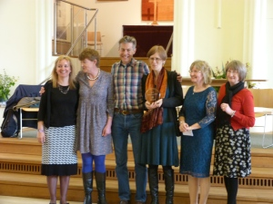 Exeter Novel awards ceremony