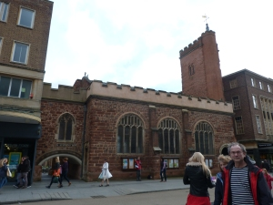 St Stephen's church, Exeter