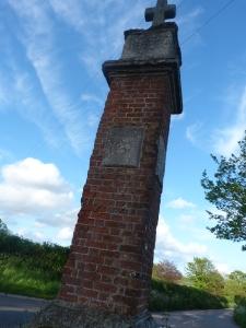 brick cross, East Budleigh