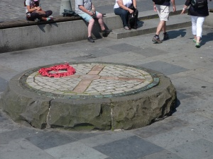 execution site on Grassmarket