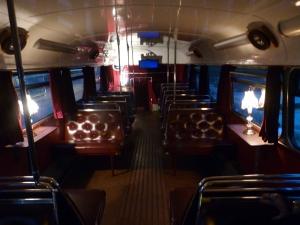 Edinburgh ghost bus