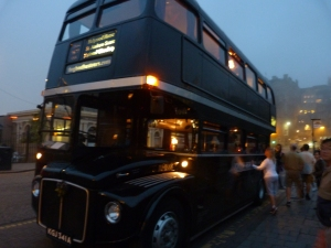 Edinburgh ghost bus