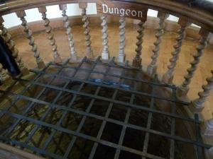dungeon at Berkeley castle