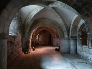 Gloucester cathedral crypt