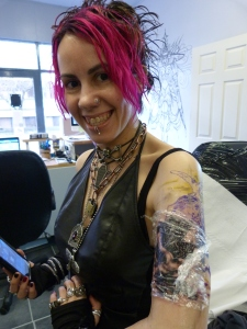 Valkyrie tattoo, C L Raven