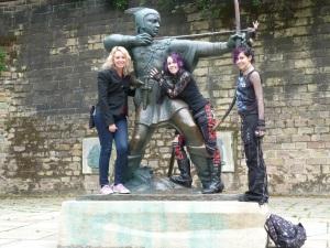 Robin Hood Nottingham Castle