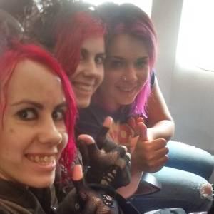 plane selfie!