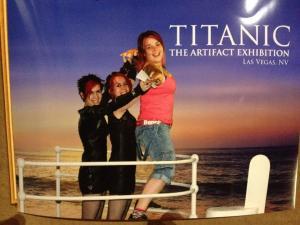 Titanic exhibition, Luxor hotel