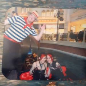 Venetian Hotel gondola
