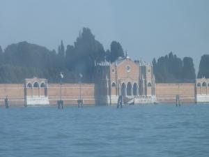 San Michele cemetery island, Venice