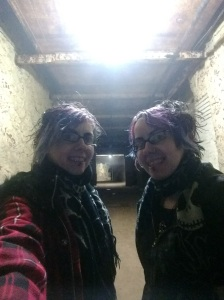 Drakelow Tunnels, Clownface